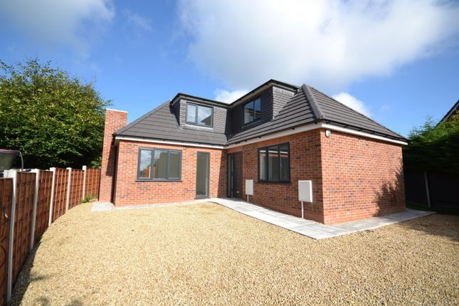 Thumbnail Bungalow for sale in Tennyson Close, Macclesfield