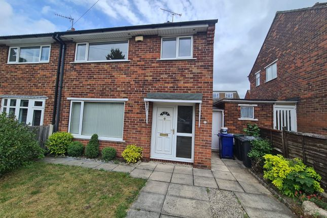 Thumbnail Semi-detached house to rent in St. Wilfrids Road, Bessacarr, Doncaster