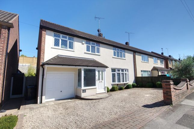 Thumbnail Semi-detached house for sale in Hunter Avenue, Shenfield, Brentwood