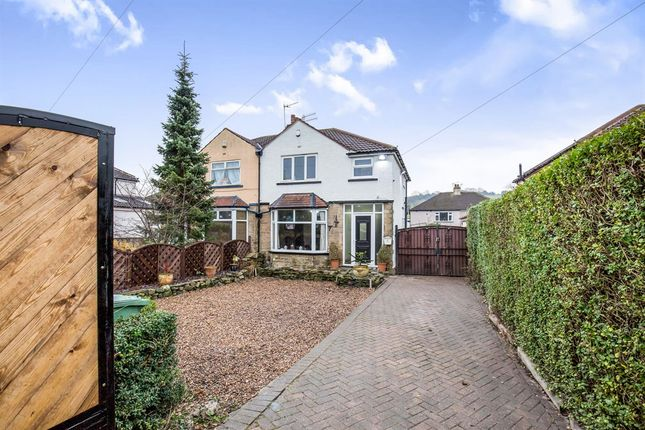 Thumbnail Semi-detached house for sale in Carr Road, Calverley, Pudsey