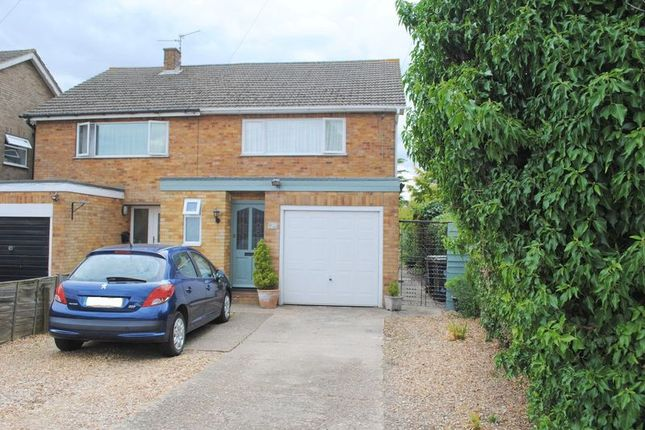 Thumbnail Semi-detached house for sale in Rushden Road, Newton Bromswold, Rushden