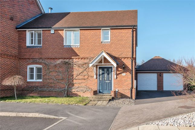 Thumbnail End terrace house to rent in Thornybush Gardens, Medstead, Alton, Hampshire