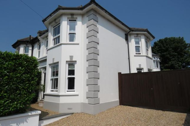 Thumbnail Semi-detached house for sale in St. Marys Road, Hayling Island