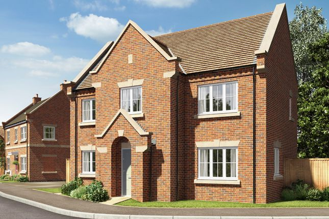 Thumbnail Detached house for sale in The Grangewood, Burton Road Tutbury, Staffordshire