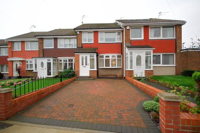 Thumbnail Terraced house for sale in Burscough Crescent, Sunderland
