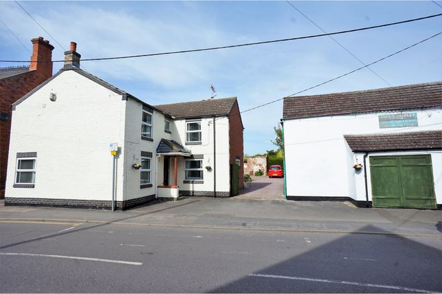 Thumbnail Detached house for sale in High Street, Saxilby, Lincoln