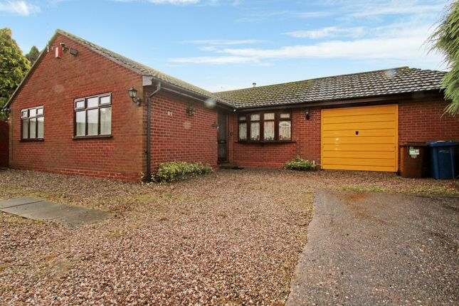 Thumbnail Detached bungalow for sale in Coleshill Street, Fazeley, Tamworth