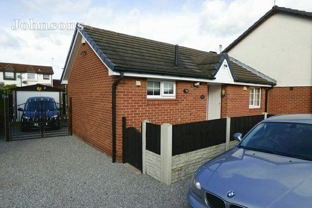 Thumbnail Semi-detached bungalow for sale in Broadwater Drive, Dunscroft, Doncaster.