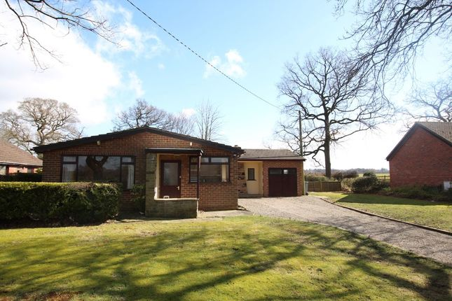 Thumbnail Bungalow for sale in Hermitage Lane, Cranage, Crewe