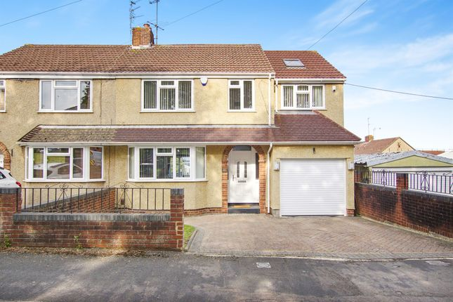 Thumbnail Semi-detached house for sale in Woodstock Road, Kingswood, Bristol