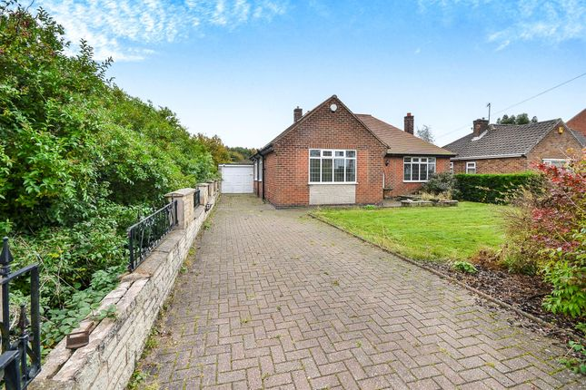 Thumbnail Detached bungalow for sale in Forest Road, Kirkby-In-Ashfield, Nottingham
