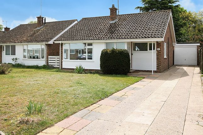 Thumbnail Detached bungalow for sale in Church Meadow, Barton Mills