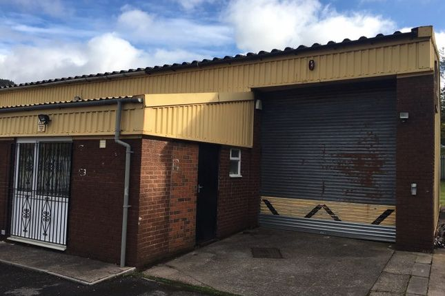 Thumbnail Industrial to let in Unit 4 Highfields Industrial Estate, Ferndale