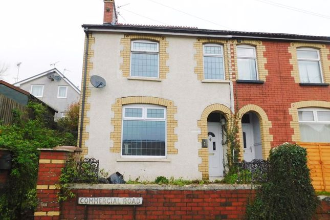 Thumbnail Terraced house for sale in Commercial Road, Machen, Caerphilly