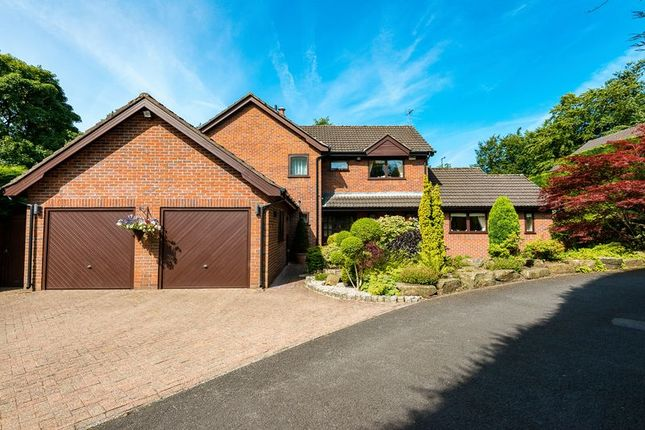 Thumbnail Detached house for sale in Brandreth Delph, Parbold, Wigan