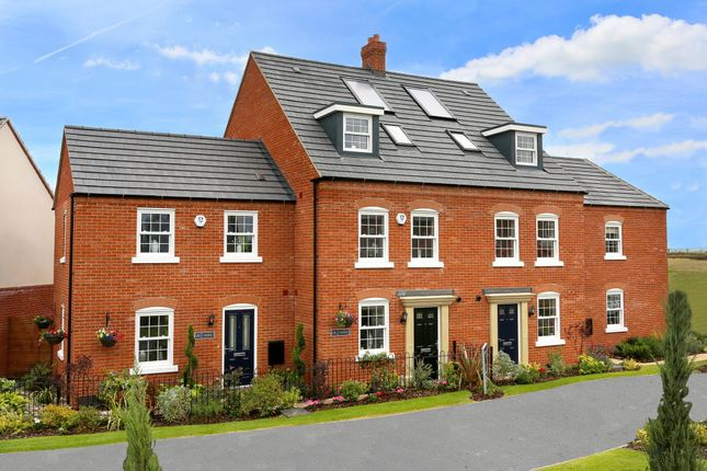 "Thumbnail End terrace house for sale in ""Amber"" at Riddy Walk, Kempston, Bedford"