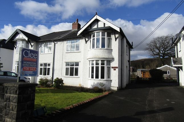 Thumbnail Semi-detached house for sale in Pontardawe Road, Clydach, Swansea, City And County Of Swansea.