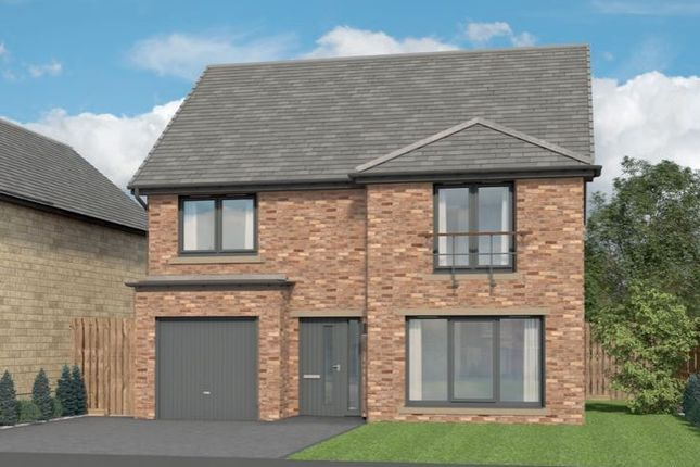 Thumbnail Detached house for sale in Lordenshaw Drive, Rothbury, Morpeth