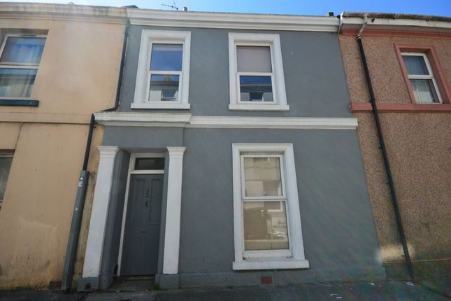 Thumbnail Terraced house to rent in Clifton Place, Plymouth