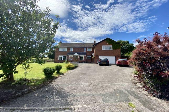 Thumbnail Detached house for sale in Kidderton Close, Brindley, Nantwich