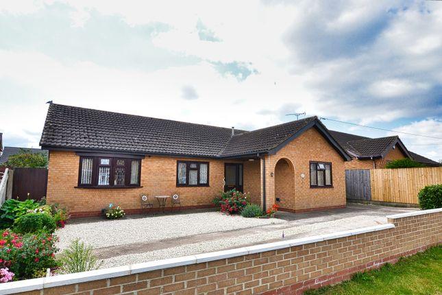 Thumbnail Detached bungalow for sale in Newport Drive, Winterton, Scunthorpe
