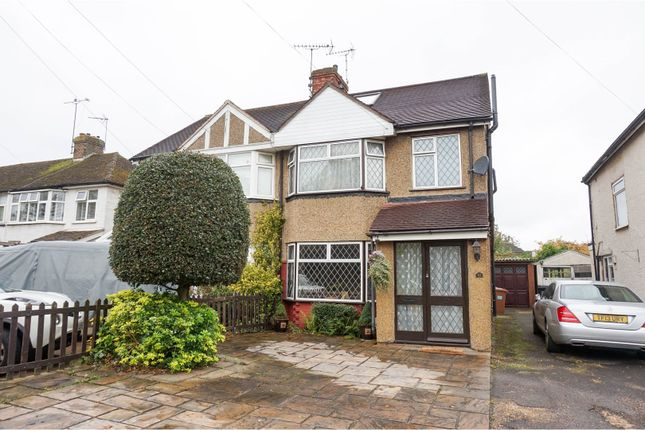 Thumbnail Semi-detached house for sale in Green Lanes, Hatfield