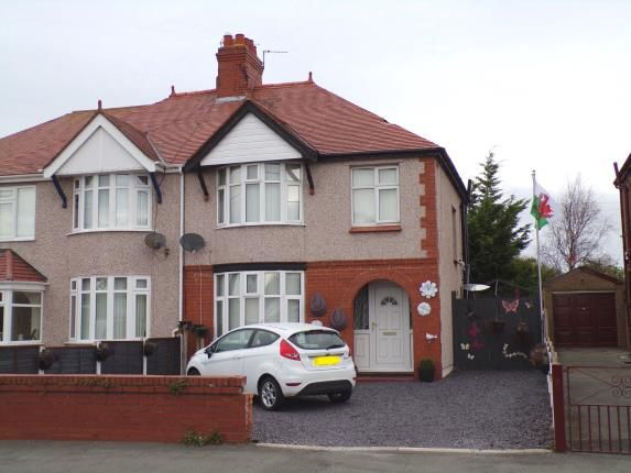 Front of Dyserth Road, Rhyl, Denbighshire LL18