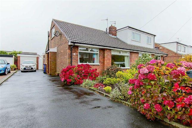 Thumbnail Semi-detached bungalow for sale in Marlowe Avenue, Baxenden, Lancashire