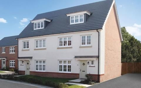 Thumbnail Semi-detached house for sale in Scholars' Walk, Off Baggallay Street, Hereford, Herefordshire