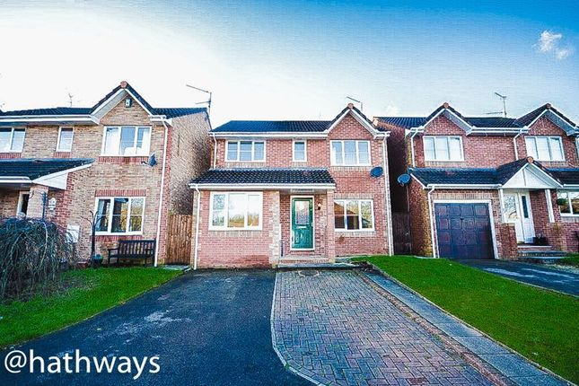 Thumbnail Detached house for sale in The Moorings, Pontymoile, Pontypool