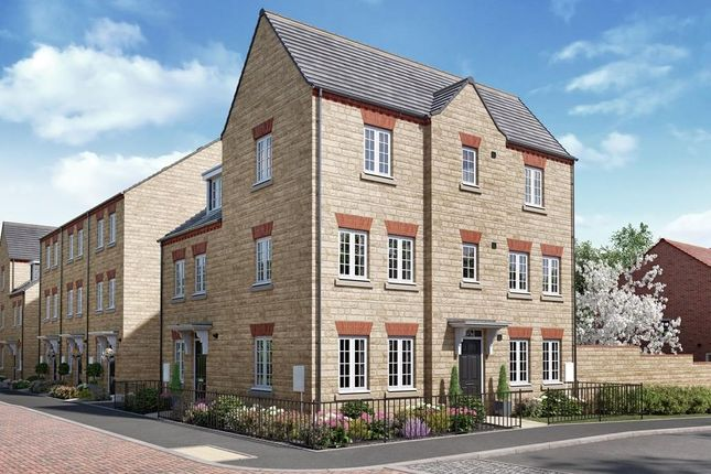 """Thumbnail Semi-detached house for sale in """"Brentford"""" at Kempton Close, Chesterton, Bicester"""