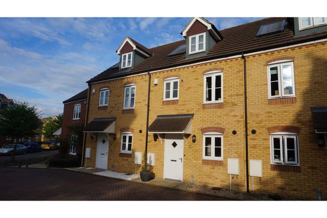 Thumbnail End terrace house for sale in The Farrows, Maidstone