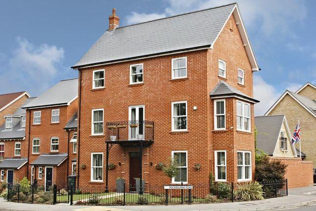 Thumbnail Town house for sale in Cufaude Lane, Sherfield-On-Loddon, Hook