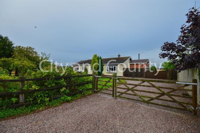 Thumbnail Detached bungalow for sale in Gilded Way, Oxcroft Bank, Whaplode Drove, Spalding