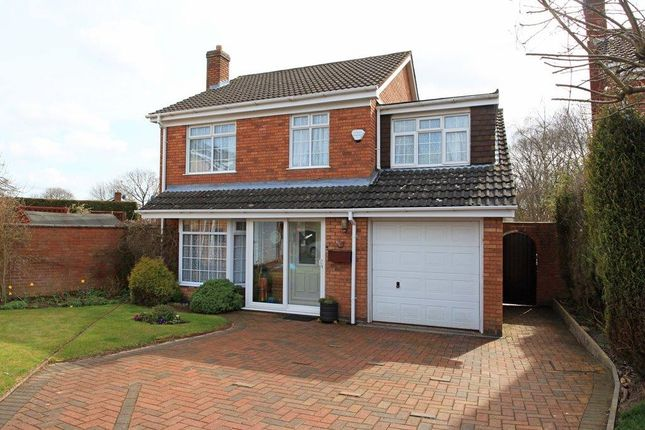 Thumbnail Detached house for sale in Squires Close, Madeley, Telford