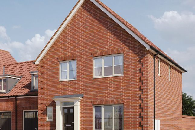 Thumbnail Link-detached house for sale in Hempstead Road, Holt