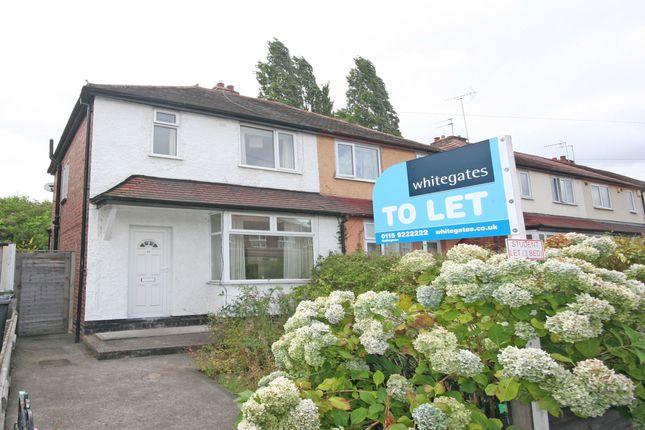 Thumbnail Shared accommodation to rent in Salisbury Street, Beeston, Nottingham