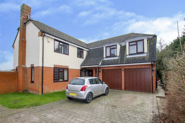 Thumbnail Detached house for sale in Warwick Place, Pilgrims Hatch, Brentwood