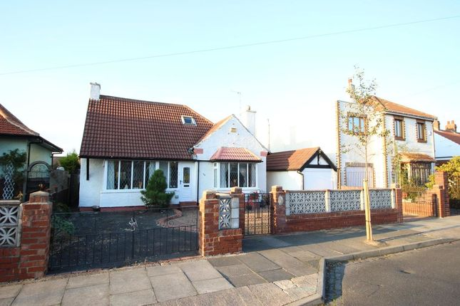 Thumbnail Bungalow for sale in Grange Park, West Monkseaton, Whitley Bay