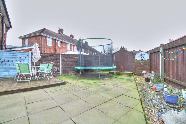 Rear Garden of Wyresdale Crescent, Ribbleton, Preston PR2