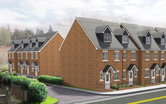 Thumbnail Town house for sale in Riverside Court, Langley Mill, Nottingham