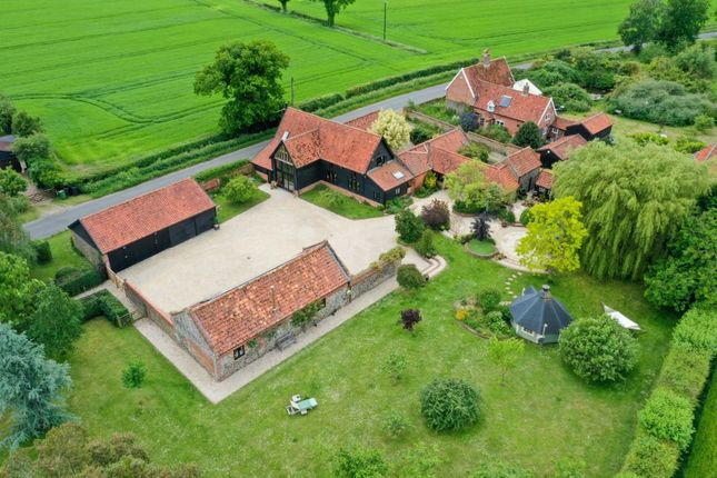 Thumbnail Barn conversion for sale in The Moor, Banham, Norwich