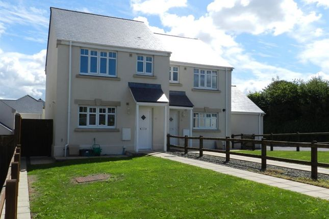 Thumbnail Semi-detached house to rent in St Peters Road, Johnston, Pembrokeshire