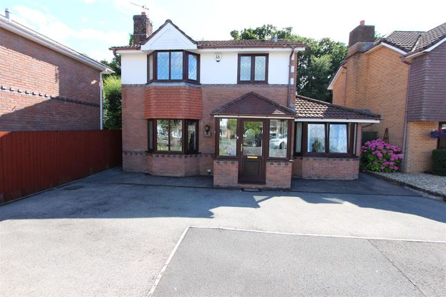 Thumbnail Detached house for sale in Rhyd Y Gwern Close, Rudry, Caerphilly