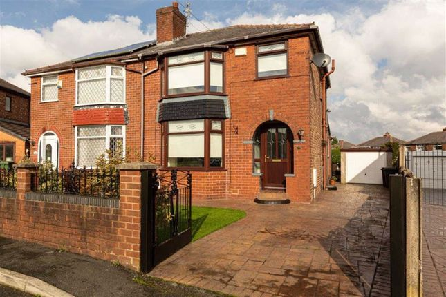 Thumbnail Semi-detached house for sale in Shakespeare Crescent, Droylsden, Manchester