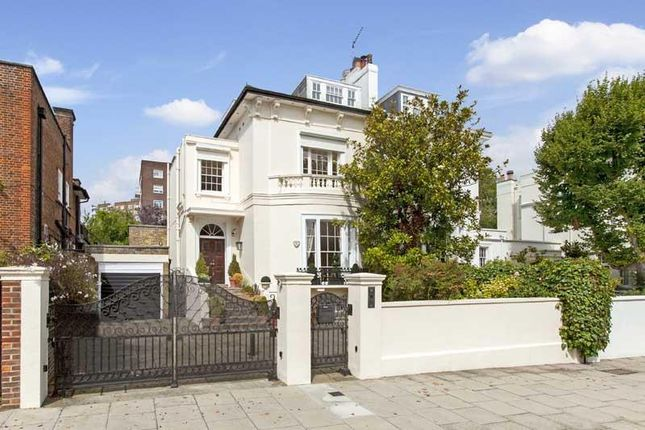 Thumbnail Terraced house to rent in Queens Grove, St John's Wood