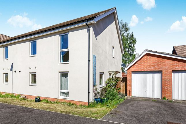 Thumbnail Semi-detached house to rent in Jaguar Lane, The Parks, Bracknell