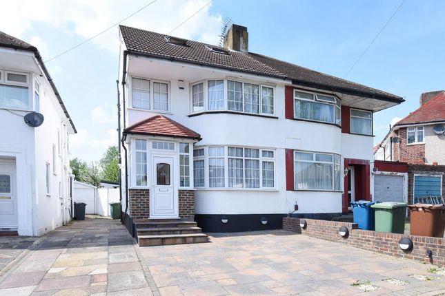 Thumbnail Semi-detached house for sale in Felbridge Avenue, Stanmore