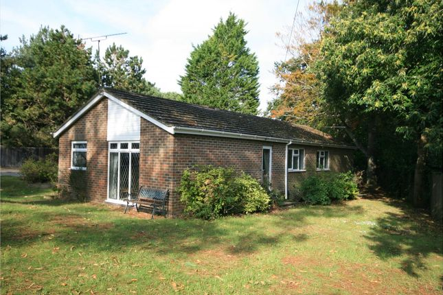 Thumbnail Bungalow for sale in Lilliput Road, Canford Cliffs, Poole