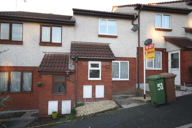 Thumbnail Terraced house to rent in Coombe Way, Kings Tamerton